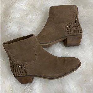 Marc Fisher studded ankle boots size 8